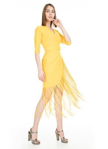 Trend Elbise Sarı